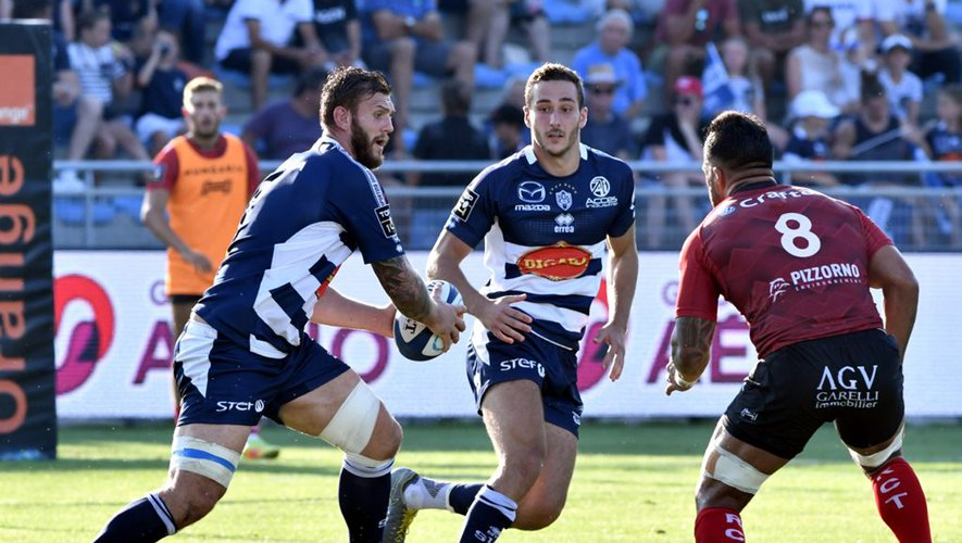 Agen Toulon Top14 Pearce Berdeu