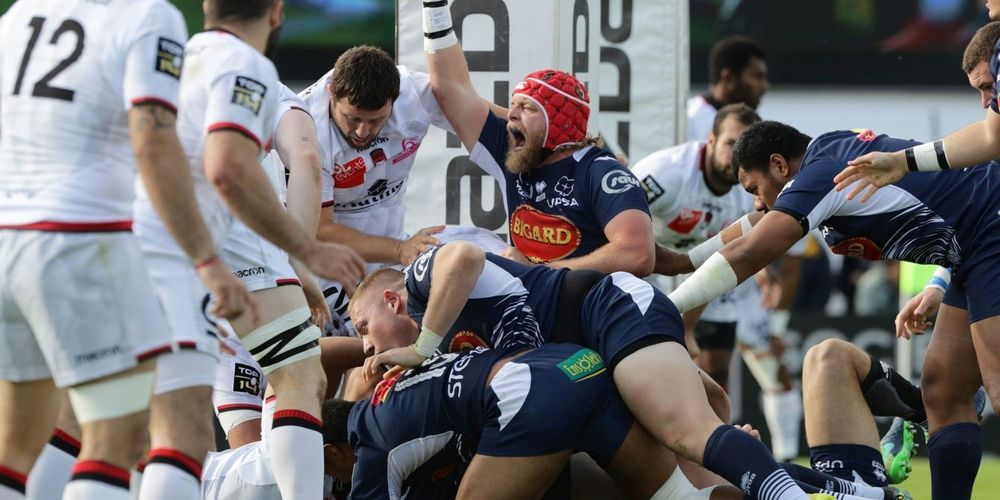 Agen Lyon Top14 Tom Murday