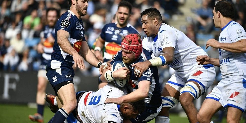 Tom Murday Agen Castres Top14 2020