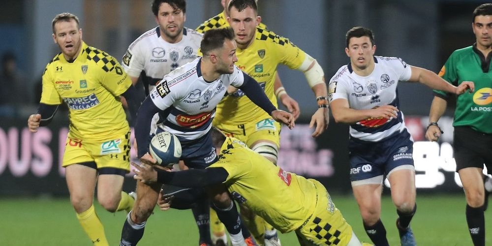 Agen Clermont 2020 Top14 Tolot